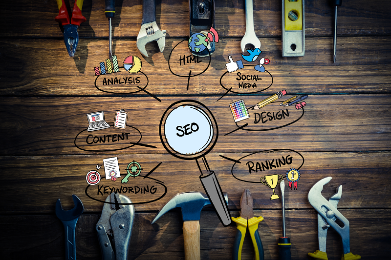 Many tools for SEO