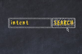 Small search intent on screen