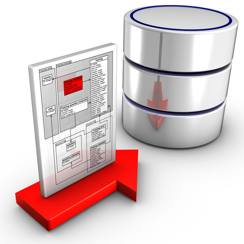 MySQL select reflecting on a silver barrel